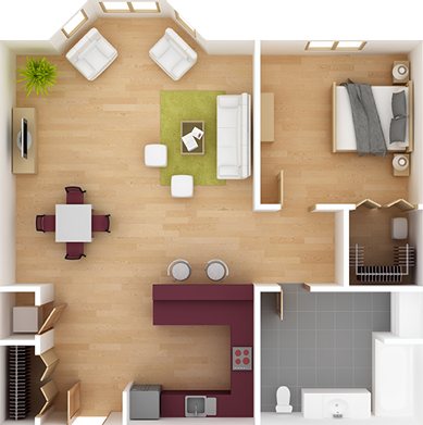 SB Signature Staging, LLC Interior Layout